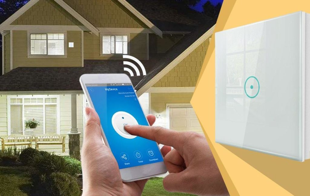 Características de un interruptor de luz con wifi